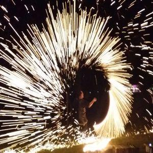 Feuershow Hamburg als Geburtstagsgeschenk