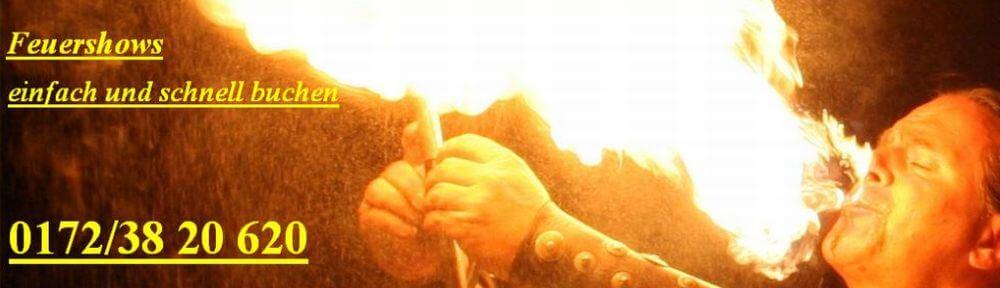 Feuershow Brandenburg - jetzt günstige buchen Preise Feuerspucker Bernau