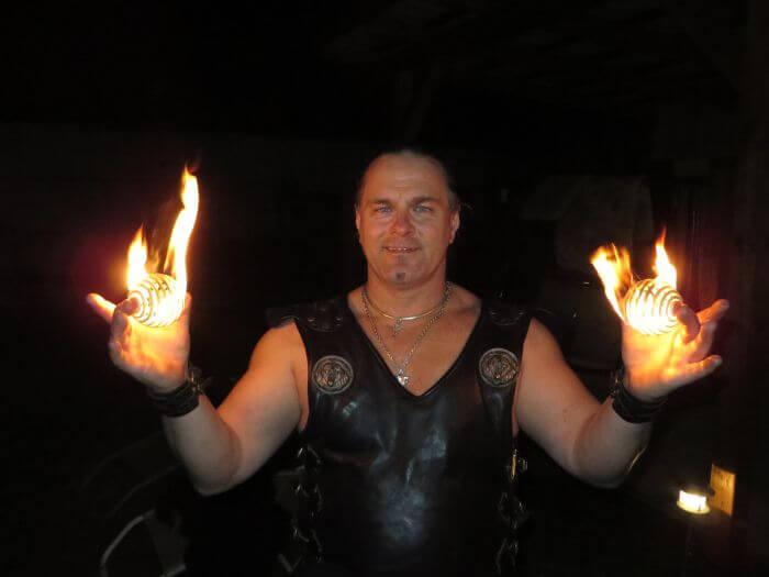 Feuerkünstler Rick-Feuershow Preise