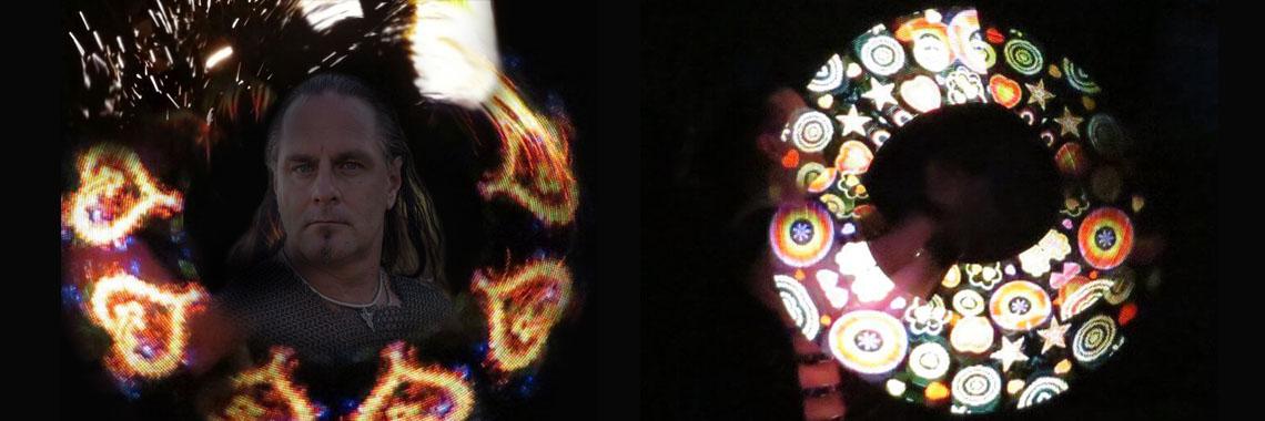 Feuershow-Lichtshow