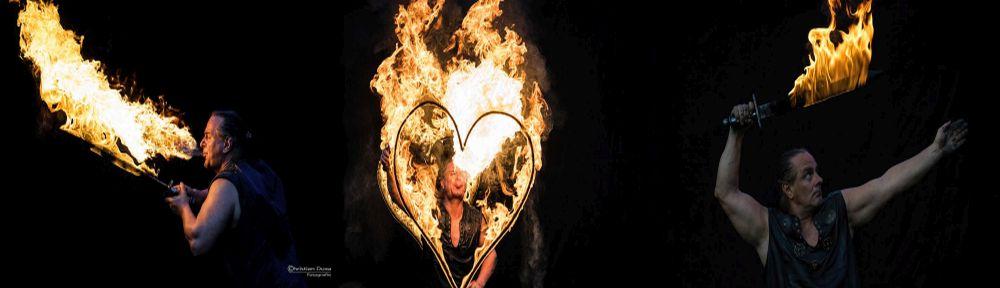 Feuershow Rick Feuerkünstler